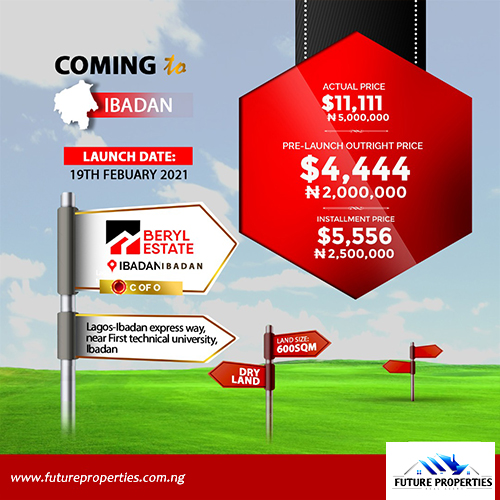 Land for sale in Ibadan