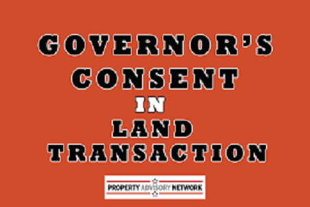 governor approval for a landed property