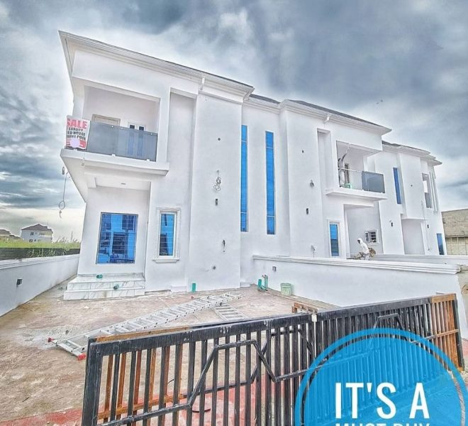 Property for sale in Lagos | Four Bedroom Semi Detached Duplex