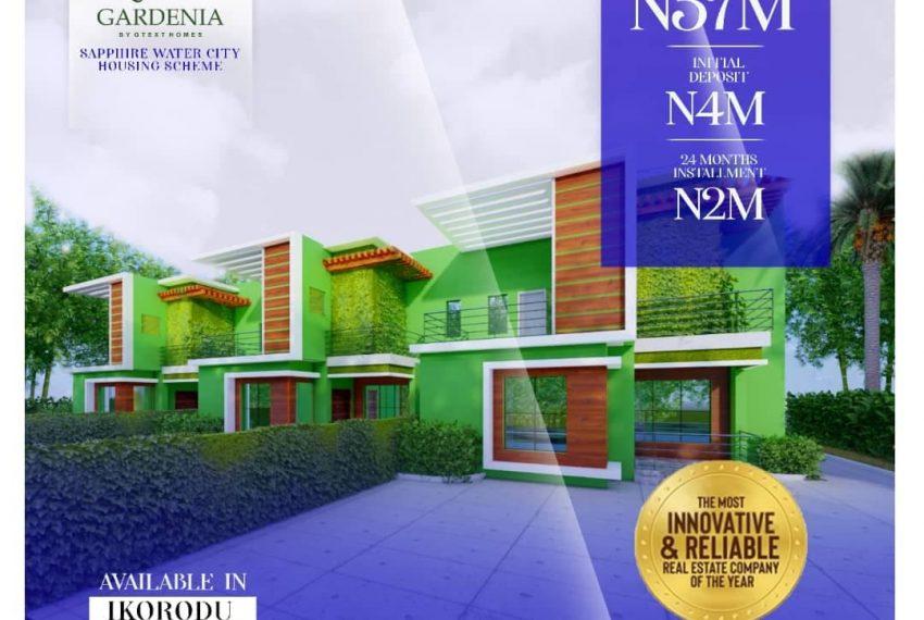 Three bedrooms apartments for sale in Ikorodu Lagos